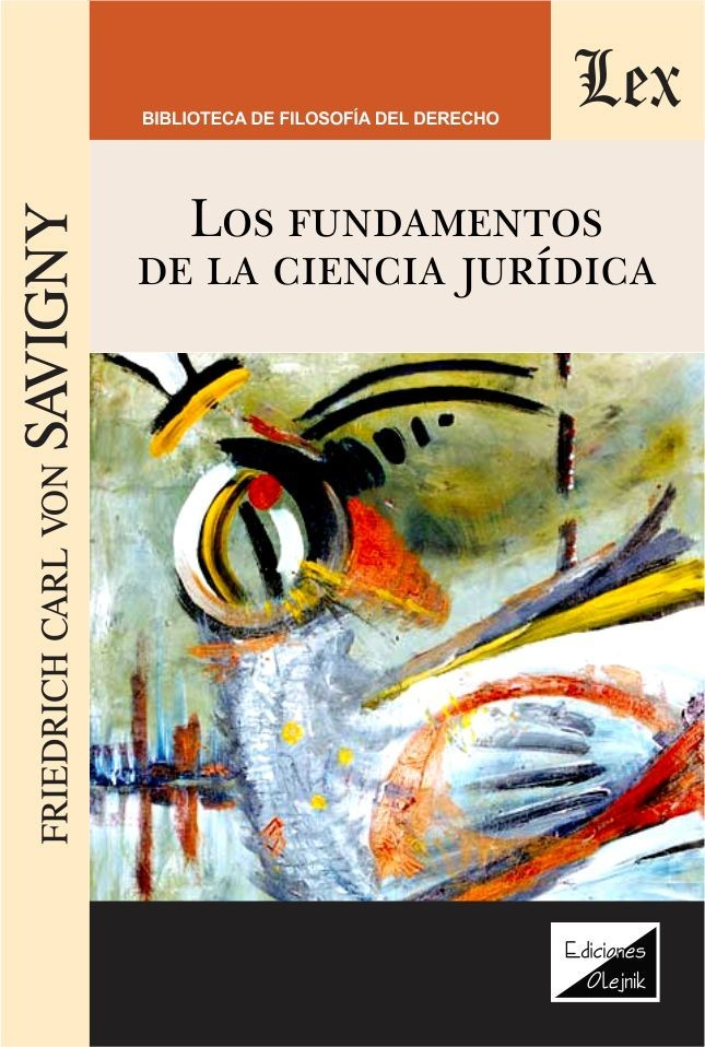 Fundamentos de la ciencia juridica, los
