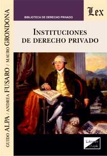 Instituciones de derecho privado