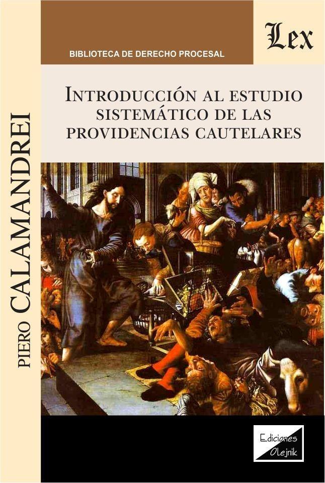 Introducción al estudio sistemático de las providencias cautelares