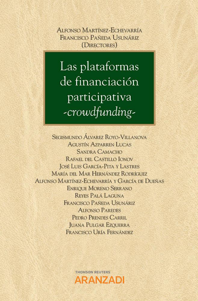 Las plataformas de financiación participativa -Crowdfunding-