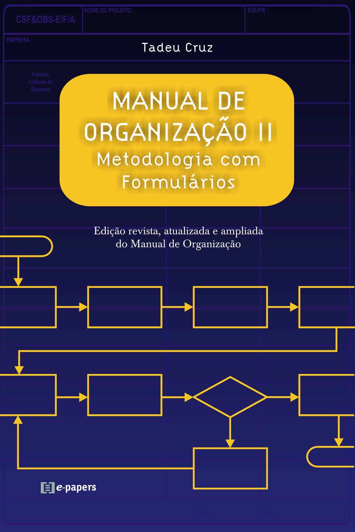 Manual de Organização II: Metodologia com Formulários