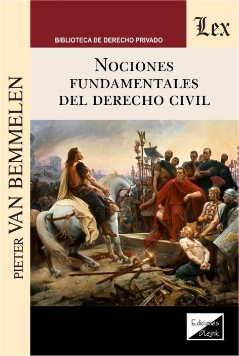 Nociones fundamentales del derecho civil