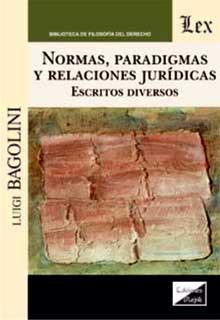 Normas, paradigmas y relaciones jurídicas