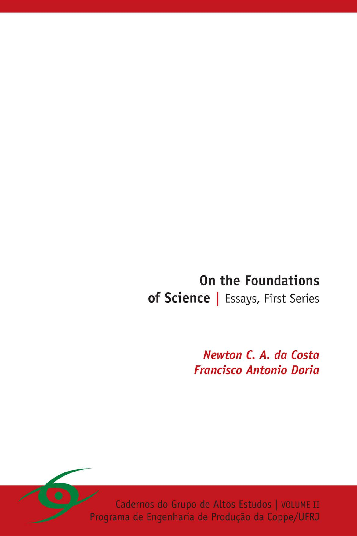 On the Foundations of Science (LIVRO): Essays, First Series