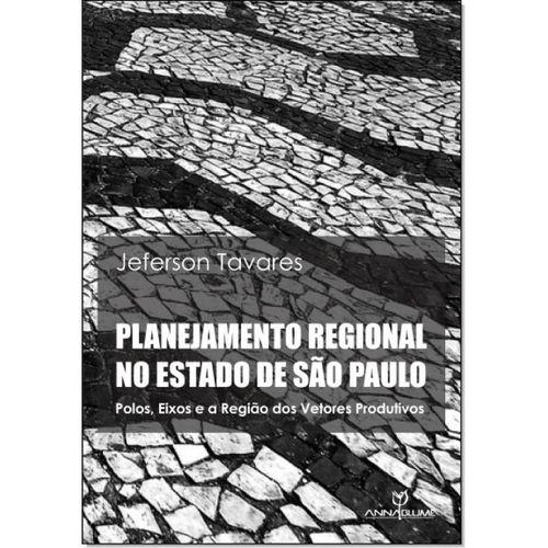 Planejamento regional no Estado de São Paulo : polos, eixos e a região dos vetores produtivos