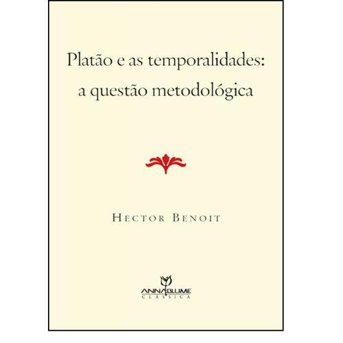 Platão e as Temporalidades: A Questão Metodológica