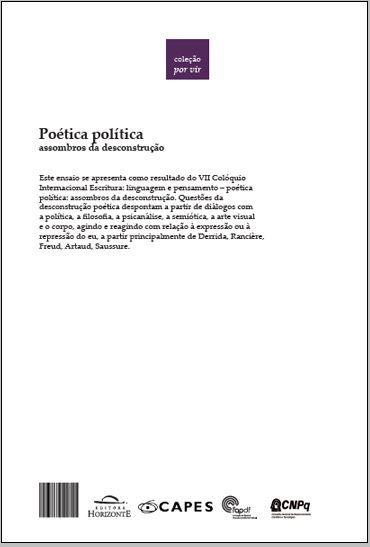 Poética política: assombros da desconstrução