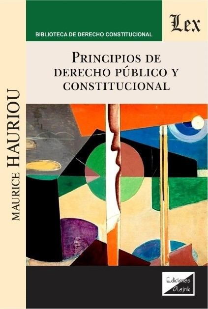 Principios de derecho público y constitucional