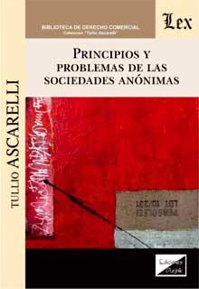 Principios y problemas de las sociedades anónimas