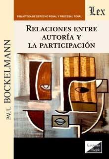 Relaciones entre autoría y la particiipación