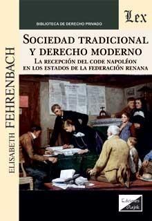 Sociedad tradicional y derecho moderno