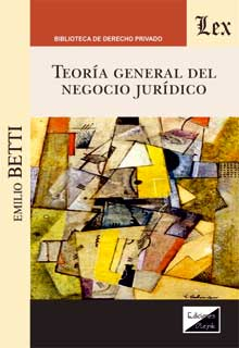 Teoría general del negocio juridico