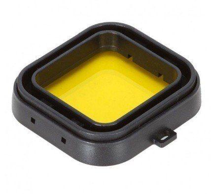 Lente Filtro Correção De Imagens Gopro Hero 3+/4 - Amarelo