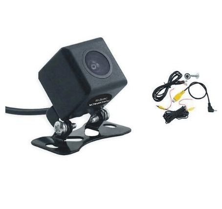 Câmera De Ré Veicular Para Central Multimídia Ou Gps - Powerpack