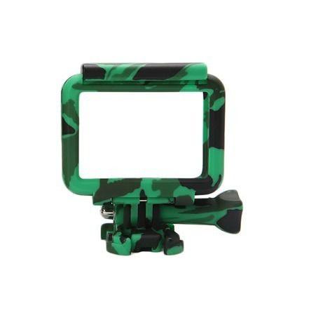 Frame Camuflada Caixa Gopro Hero 5, 6, 7 - Verde