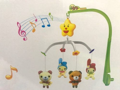 Móbile Musical Para Berço De Bebê