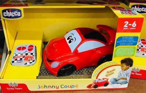 Carrinho C/ Controle Remoto Johnny Coupe Chicco Vermelho