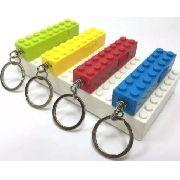 Porta Chaves Bloco Lego Com Lanterna De Led
