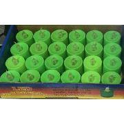 Kit Com 24 Velas De Led Decorativa C/baterias-pisca Colorido