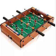 Mini Mesa Pebolim Futebol Totó Com Placar E Bola(50x31x10cm)