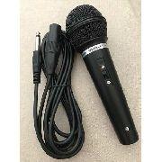 Microfone Dinâmico Profissional Metal Wvngr Wg-901b