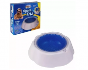 Bebedouro Tigela Fria Gel Pet Para Cães E Gatos - Western Pet