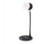 Caixa De Som Bluetooth Abajur Led Wireless Haste Flexível