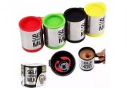 Caneca Mágica Mixer Alumínio a Pilhas 2 X Aa