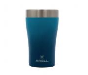 Copo Térmico Inox Tulip Café Cerveja 500ml Arell 5hs Gelado Azul