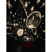 Luminária Abajur Projetor Planetas Galaxy 360º Star Master
