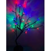 Luminária Árvore Cerejeira Decoração 28 Leds - Colorido
