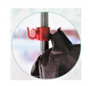 Organizador Para Guarda Sol 4 Ganchos Plástico Pendura Tudo