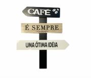 Placa Decorativa Café é Sempre Uma Ótima Idéia