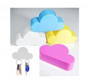 Porta Chave Magnético Imã Nuvem Decoração Design Chaveiro