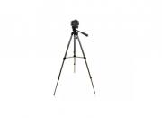 Tripé Universal De Alumínio Retrátil P/ Câmera Digital 1,37m