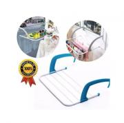 Varal Portátil Prático Em Aço Para Portas Box Ou Janela