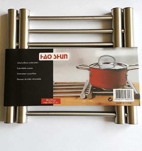 Descanso Para Panela Extensível Em Aço Inox