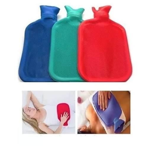 Bolsa De Água Quente E Fria Para Compressas 1,8 Litros Azul