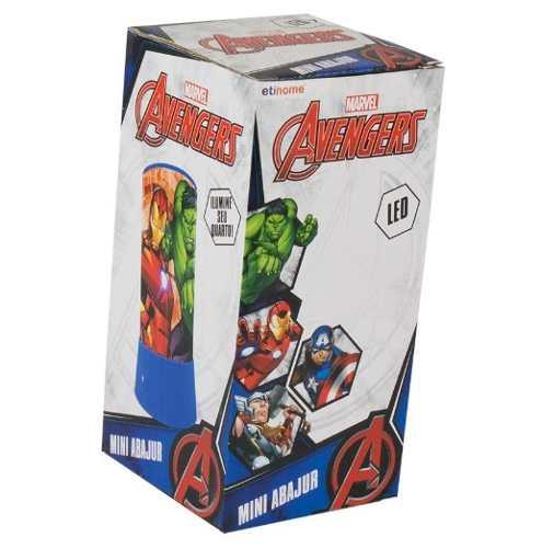 Mini Abajur / Luminária em Led Avengers