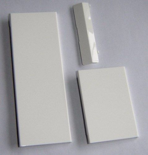Kit Com 3 Tampas Para Nintendo Wii Branco ou Preto