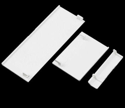Kit Com 3 Tampas Para Nintendo Wii Branco