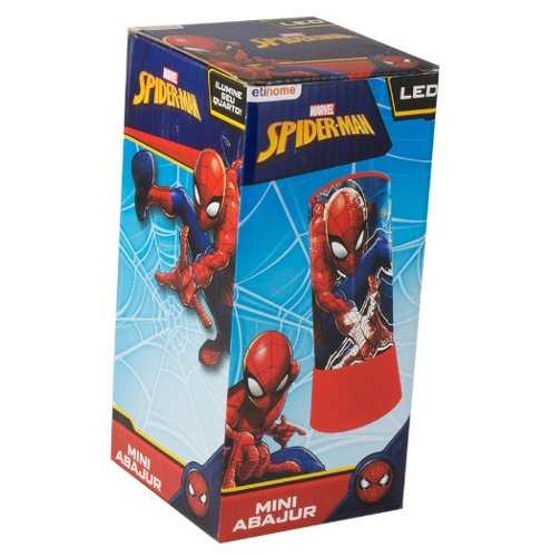 Mini Abajur / Luminária Em Led Spider-man