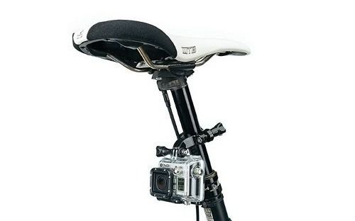 Suporte Gopro Ride Hero Handlebar Setpost Mount Bike