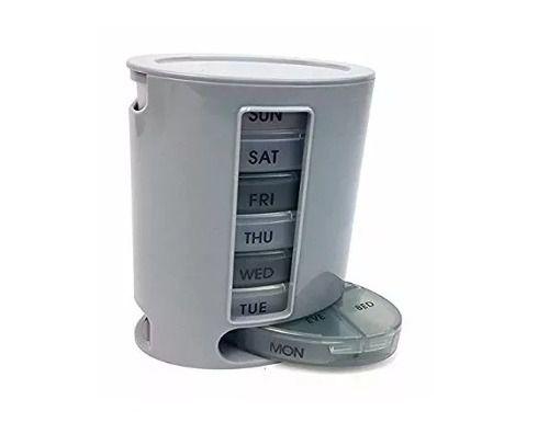 Porta Comprimidos Remédio Organizador Semanal Pill Box Pro