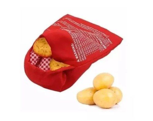 Saco Para Forno Microondas Assa Rápido Batata Fácil Bag