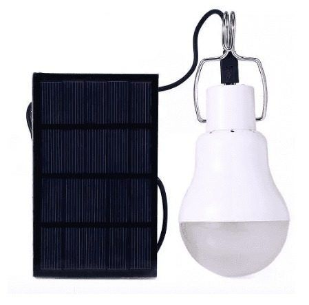 Lâmpada Led Recarregável Energia Solar S-1200 15w 130lm
