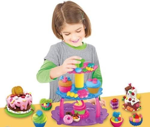 Massinha De Modelar Cupcake - Dm Toys