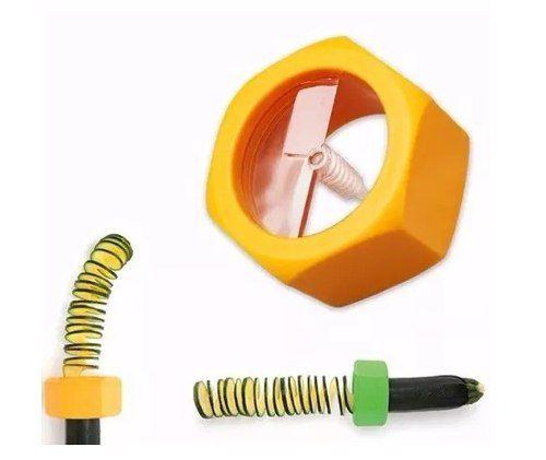 Cortador Pepino Rotacional Slicer Espiral Macarrão