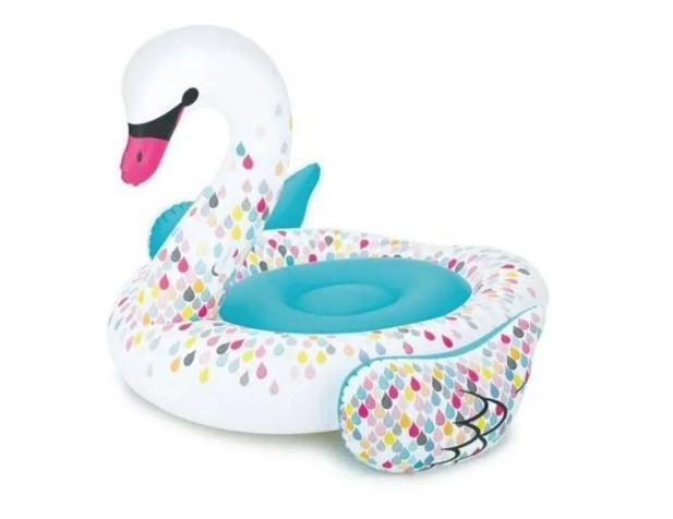 Bóia Cisne Flamingo Inflável Summer Waves