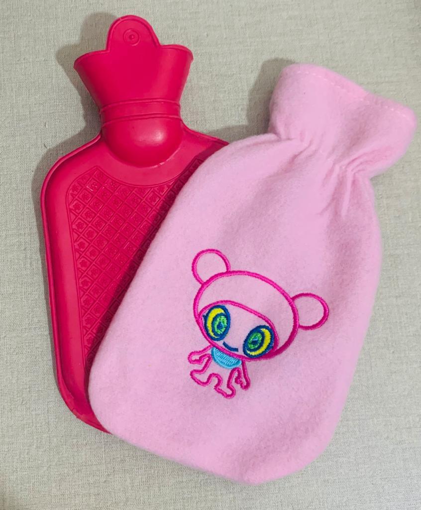 Bolsa De Água Quente E Fria com capa infantil 240ml